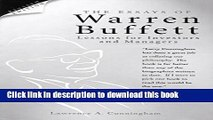 Read The Essays of Warren Buffett: Lessons for Investors and Managers , Revised and Updates