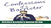 [PDF]  Confessions of a Barrister (The Confessions Series)  [Read] Full Ebook
