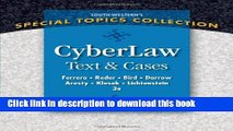 [PDF]  CyberLaw: Text and Cases  [Read] Full Ebook