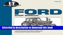 Read Books Ford Shop Manual Series 5000, 5600, 5610, 6600, 6610, 6700, 6710, 7000, 7600, 7610,