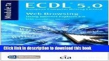 Download ECDL Syllabus 5.0 Module 7a Web Browsing Using Internet Explorer 6 PDF Free
