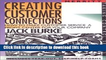 [PDF] Creating Customer Connections: How to Make Customer Service a Profit Center for Your Company