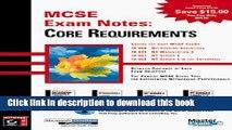 Read MCSE: Exam Notes: Core Requirements Ebook Free
