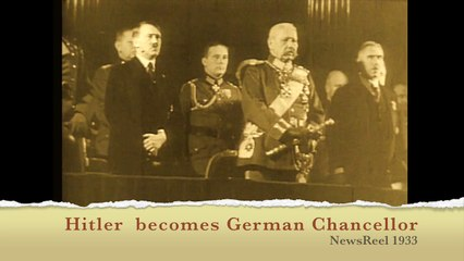 The Newsreel - Hitler becomes Chancellor