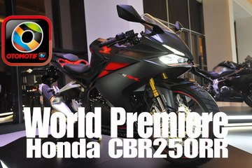 World Premiere dan First Impression All New Honda CBR250RR