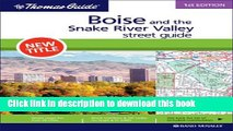 Read Boise and the Snake River Valley, Idaho (Rand McNally Thomas Guide) Ebook Free