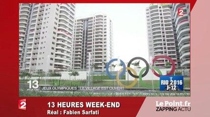 Quand les athlètes australiens boudent leurs logements à Rio - Zapping du 25 juillet