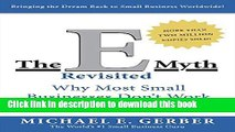 Read The E-Myth Revisited: Why Most Small Businesses Don t Work and What to Do About It  Ebook