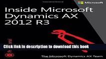 Read Inside Microsoft Dynamics AX 2012 R3  Ebook Free