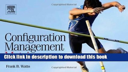 Read Configuration Management Metrics  Ebook Free