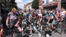 Cyclisme - GP de Pérenchies 2016 - La minute de silence en hommage des victimes de l'attentat de Nice