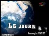 Journal de 20h TVCongo du Lundi 25 juillet 2016 -By Congo-Site