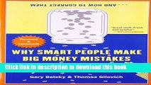 [Read PDF] Why Smart People Make Big Money Mistakes and How to Correct Them: Lessons from the