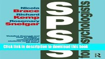 Read Book SPSS for Psychologists: Fifth Edition E-Book Free