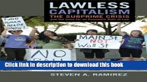 Read Lawless Capitalism: The Subprime Crisis and the Case for an Economic Rule of Law E-Book