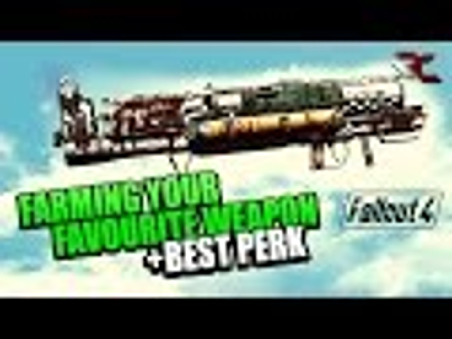 Fallout 4 - Farming the best LEGENDARY weapons with your favourite perk