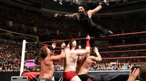 WWE RAW 7/25/16 – WWE RAW 25th July 2016 – WWE RAW 25/7/2016 Part 3[Roman Reigns Def Jericho,Sheamus,Zayn]