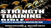 Read Strength Training Bible for Men: The Complete Guide to Lifting Weights for Power, Strength