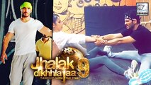 OMG! Arjun Bijlani INJURED   Jhalak Dikhhla Jaa 9    Colors TV