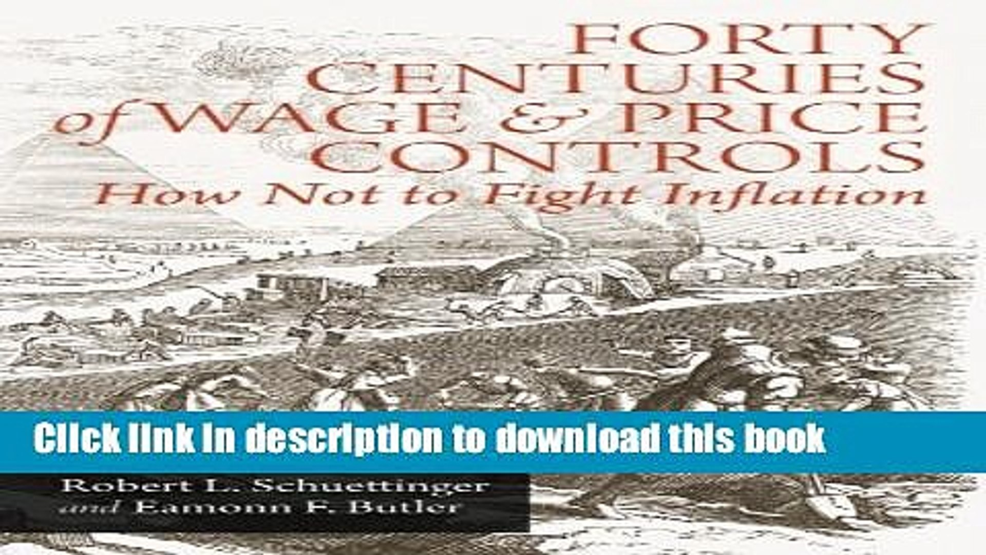 Read Books Forty Centuries of Wage and Price Controls: How Not to Fight Inflation E-Book Free