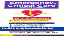 Download Emergency   Critical Care Pocket Guide, ACLS Version PDF Online