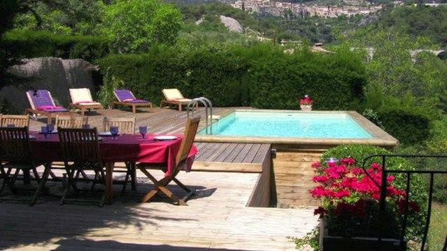06 Tourrettes-Sur-Loup - VENTE Villa Provençale 170 M² sur Terrain de 3220M² avec Piscine