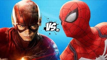 THE FLASH vs SPIDERMAN - Epic Superheroes Battle