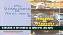 Download 25 Questions and Answers on Health and Human Rights Ebook Free