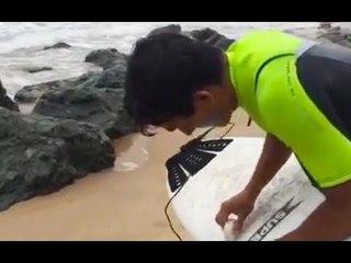 SurfersVillage x SUPERBRAND Live Surf Test