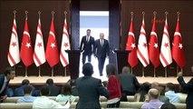 Başbakan Yıldırm ile KKTC Başbakanı Hüseyin Özgürgün Ortak Basın Toplantısında Konuştu -1