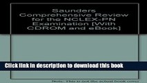 [PDF] Saunders Comprehensive Review for the NCLEX-PN(tm) Examination - Text and E-Book Package