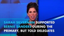 """Sarah Silverman mocks 'Bernie or Bust' supporters: """"you're being ridiculous"""""""