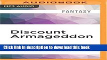 Download Discount Armageddon (InCryptid) PDF Online