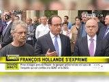 """""""Nous devons être ensemble"""" - François Hollande s'exprime après l'attaque de Saint-Etienne-du-Rouvray"""