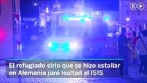 El terrorrista de Ansbach juró lealtad al ISIS