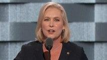 Sen. Kirsten Gillibrand addresses the DNC