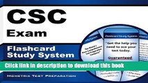 Download CSC Exam Flashcard Study System: CSC Test Practice Questions   Review for the Cardiac