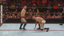 WWE RAW 7/25/16 - Balor VS Rusev VS Cesaro VS Owens - Full Highlights (HD)