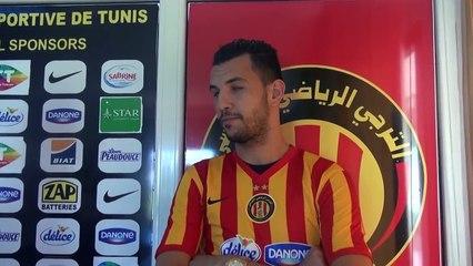Belkaroui : » Objectif, disputer la coupe du monde des clubs avec l'ES Tunis !»