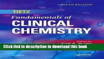Download Book Tietz Fundamentals of Clinical Chemistry, 6e (Fundamentals of Clinical Chemistry