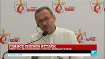 France church attack: spokesperson for France's bishops reacts to Normandy attack