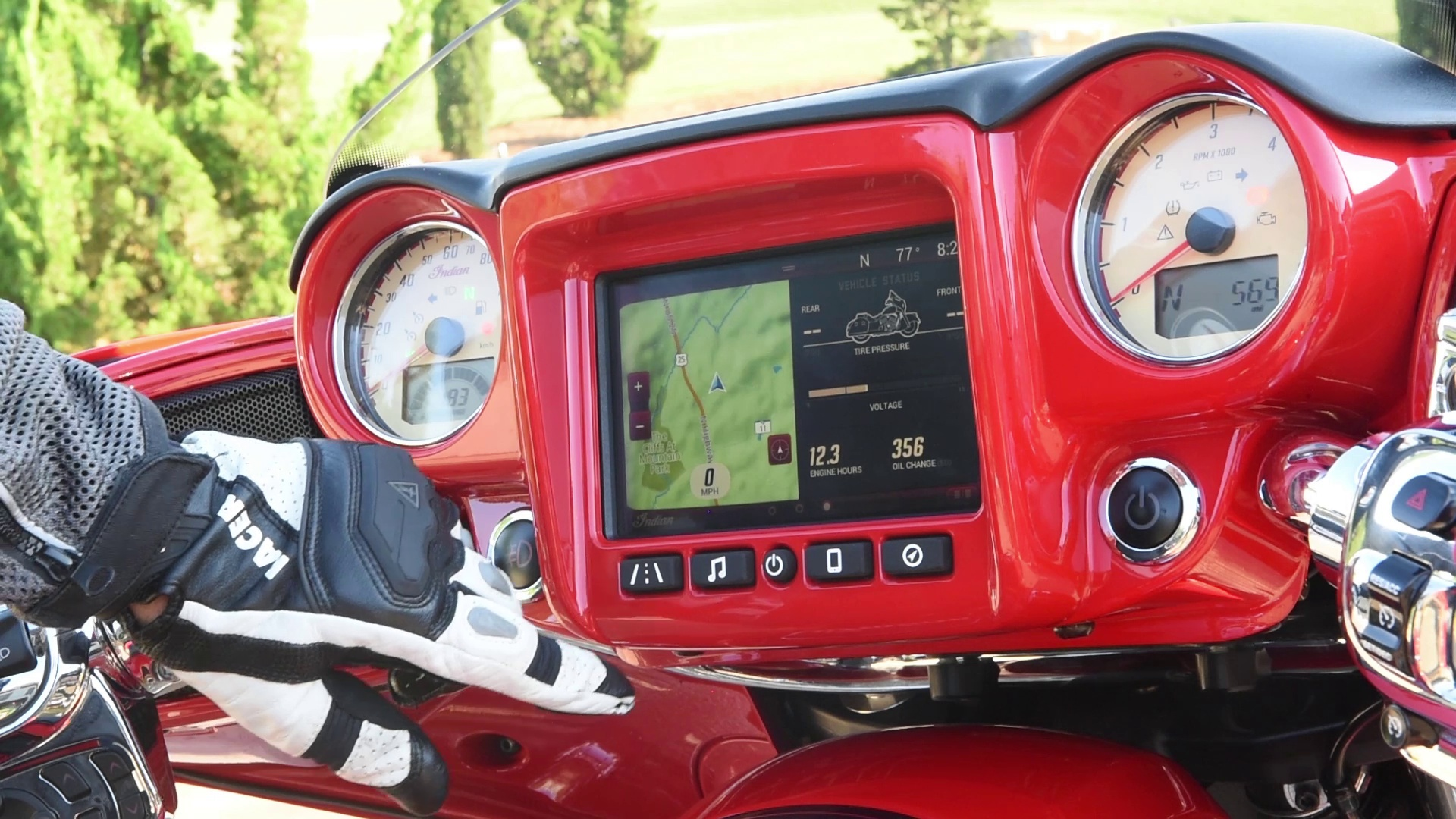 The Indian Motorcycle Ride Command System