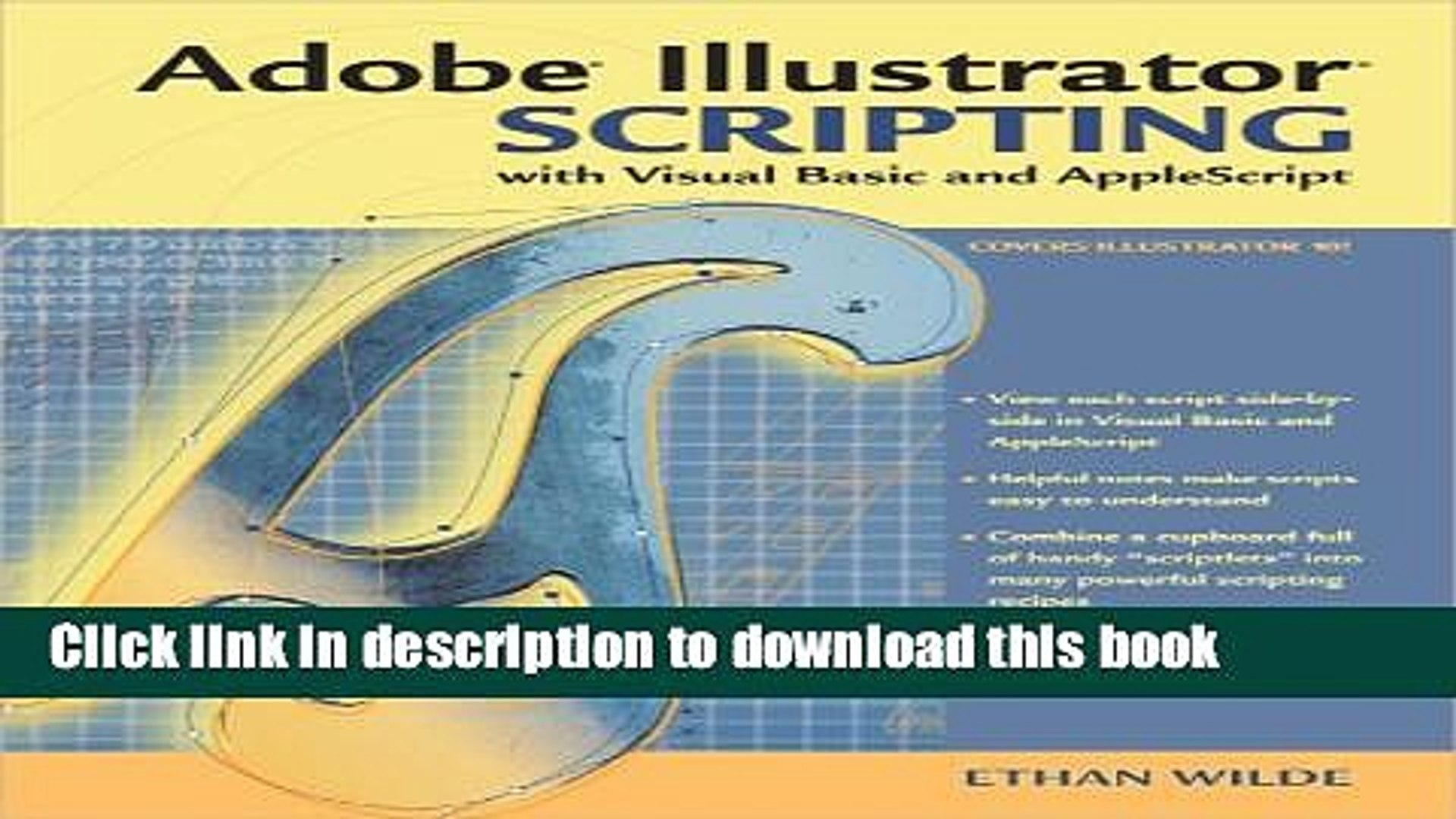 Read Book Adobe Illustrator Scripting with Visual Basic and AppleScript  ebook textbooks