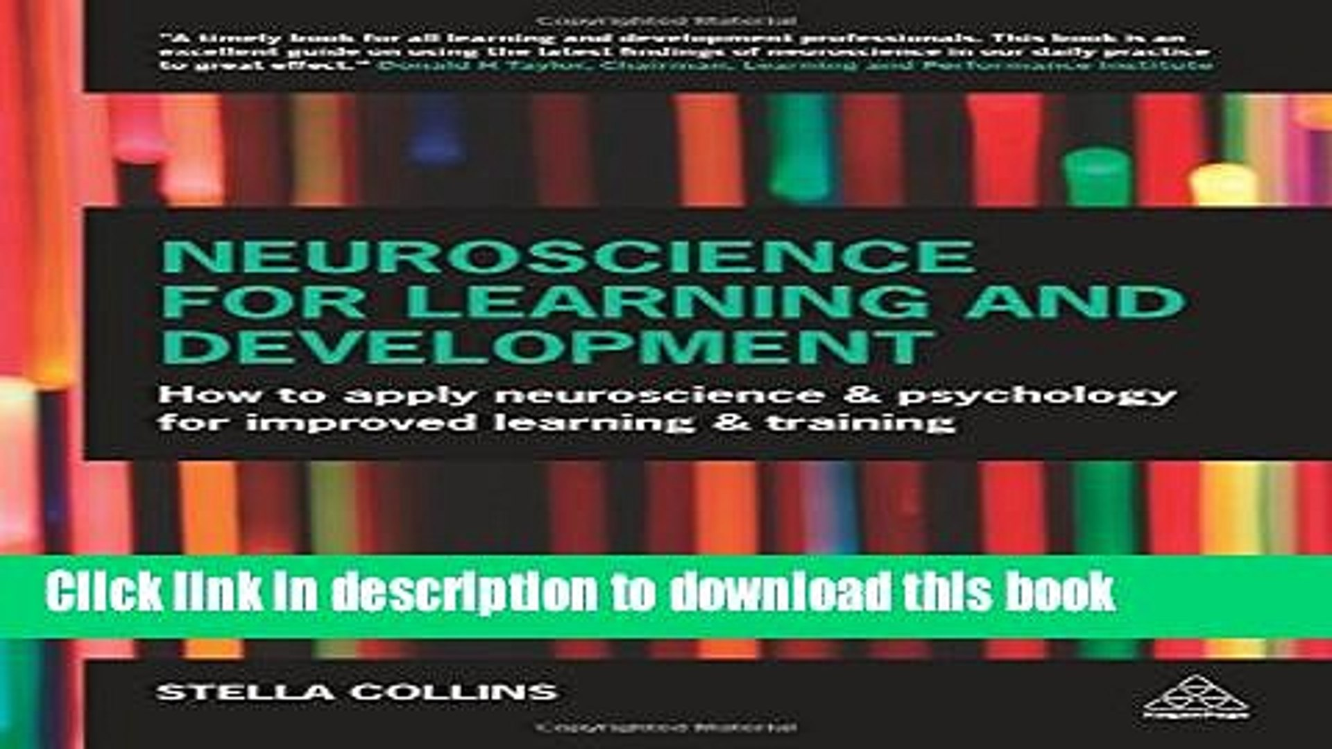 Read Books Neuroscience for Learning and Development: How to Apply Neuroscience and Psychology for