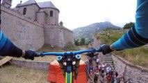 Adrénnaline - VTT : Une descente dans les remparts de Briançon
