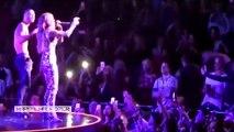Cristiano Ronaldo Dancing on Jennifer Lopez concert in Vegas 25_07_2016