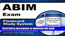 Read ABIM Exam Flashcard Study System: ABIM Test Practice Questions   Review for the American
