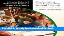 Read Encouraging and Supporting Student Inquiry: Researching Controversial Issues (Libraries