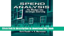 Download Spend Analysis: The Window into Strategic Sourcing  PDF Free