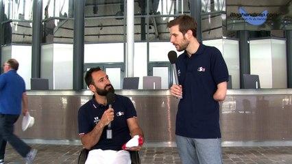 Michaël Jeremiasz - Porte drapeau Équipe de France Rio 2016